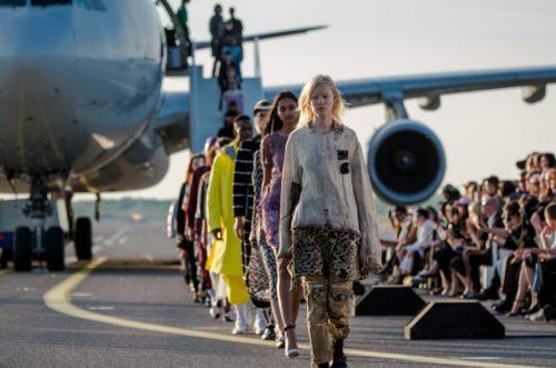 helsinki lufthavn modeshow