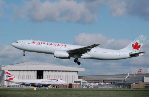 Air canada airbus a330-300 heathrow