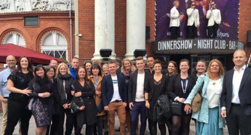 Danske IATA-Cometers medlemmer var sidste måned til jubilæumsfest i Cirkusbygningen.