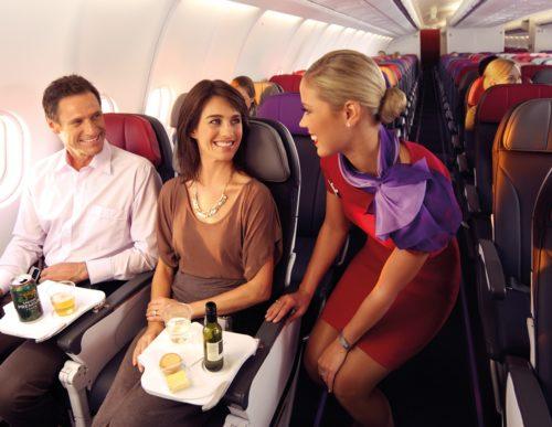 Virgin Australia kabine stewardesse