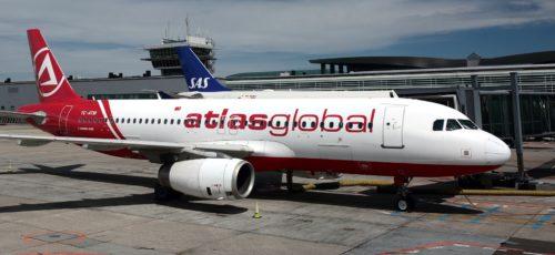 atlas global københavns lufthavn fly