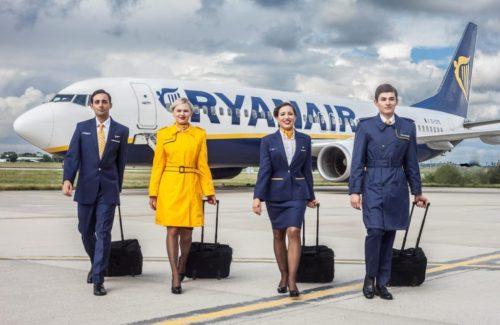 ryanair kabine besætning fly