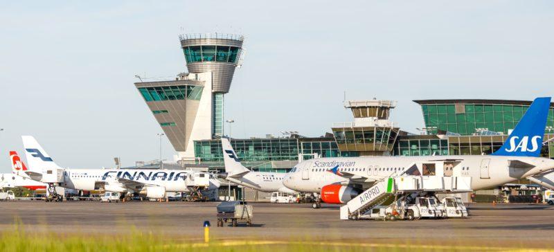 Helsinki lufthavn fly