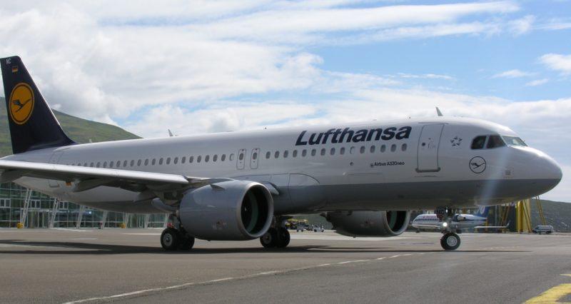 Lufthansa på Færøerne