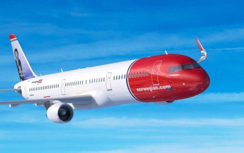 Norwegian Airbus A321LR