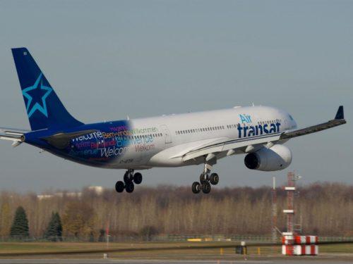 air transat airbus a330 fly lufthavn