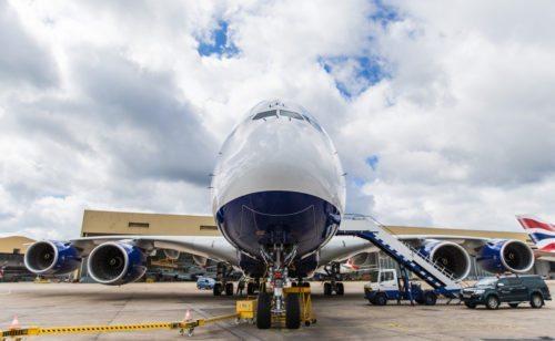 British Airways' newest Airbus A380 (Reg: LEL) Taken: 24th June 2016 Picture by: Stuart Bailey / British Airways