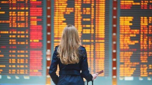 fly lufthavn passager