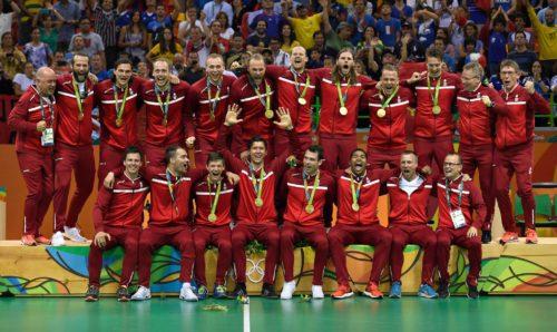Danmark vandt søndag guld i den olympiske OL-håndboldturnering. Foto: Team Danmark og Danmarks Idrætsforbund.