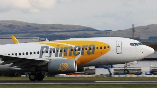 Primera Air fly lufthavn