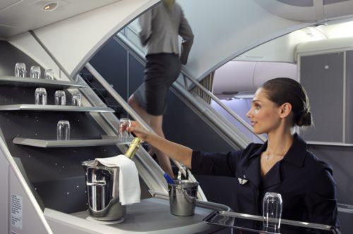 air france kabine fly