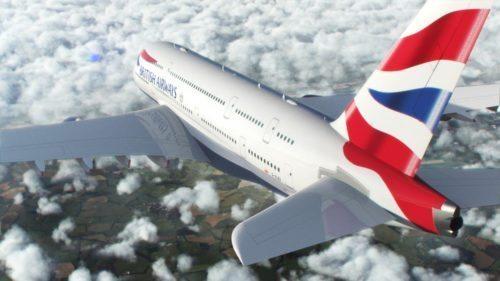 british airways airbus a380 fly