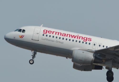 Flyet fra Germanwings, som dets psykisk syge styrmand den 24. marts sidste år styrede ned i de franske alper.