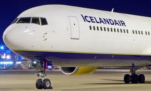 icelandair boeing B767