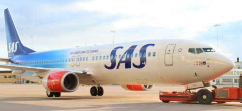 sas 70 års fly Boeing B737