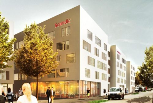 Scandic Kødbyen i København bliver fra 2018 hotelkædens nyeste hotel med ca. 370 værelser.