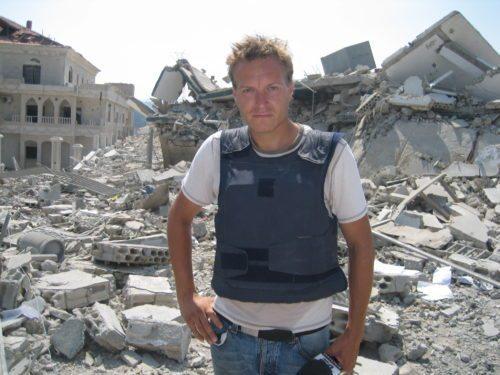 Rasmus Tantholdt er klar til møde hos PATA i Silkeborg. Foto: Artebooking.dk