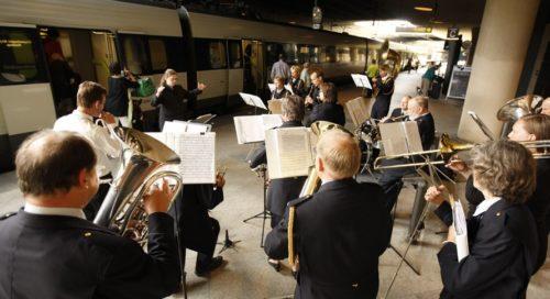Der er ikke så meget at trutte for når det gælder togforbindelser fra Sverige til Københavns Lufthavn. Foto: Ernst Tobisch.)