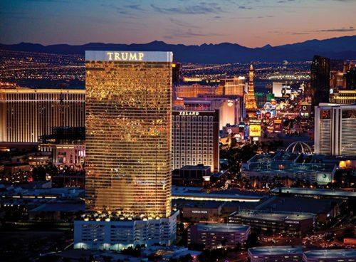 Trump-hotellet i Las Vegas.