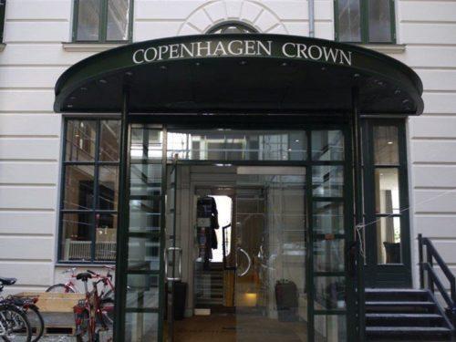 """Copenhagen Crown på Vesterbrogade i København beskrives af den danske del af ESMO-arrangørerne som en """"hotelgrib."""""""