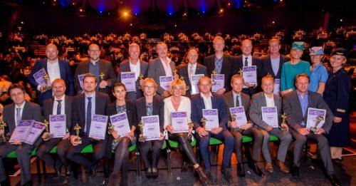 Vinderne af Danish Travel Awards 2016. Klik på fotoet for at se det i stort format. Foto: Michael Stub.