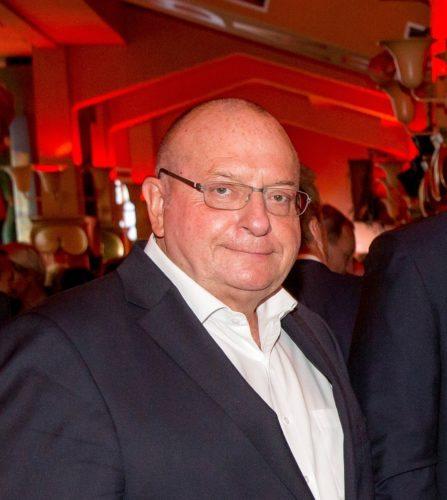 Jens Zimmer Christensen ved Danish Travel Awards denne måned, foto: Michael Stub.