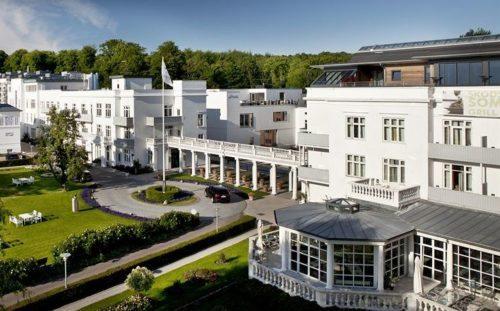 Kurhotel Skodsborg nord for København er et af de danske hoteller, Secret Escapes samarbejder med.