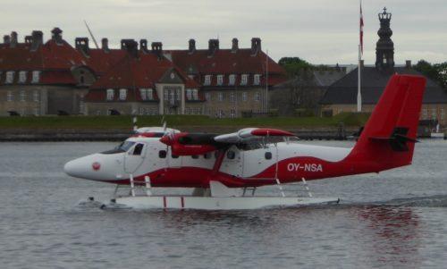 Nordic Seaplanes foreløbigt eneste fly i Københavns Havn.