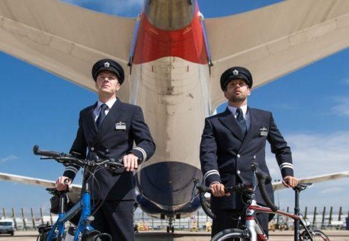 british-airways-piloter-cykel