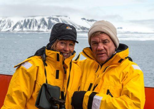 Ægteparret Berit Willumsgaard, administrerende direktør i Albatros Travel, og Søren Rasmussen, formand for ATG.
