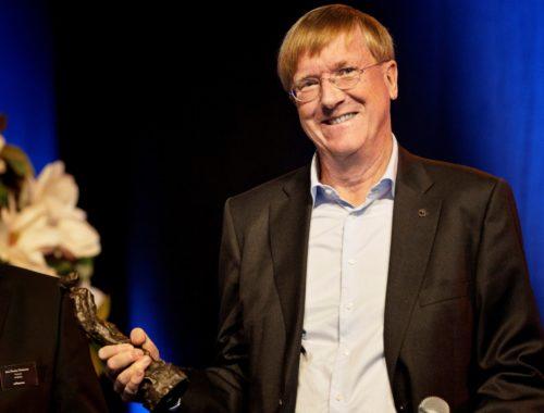 Henning Arp-Hansen modtog i går Horesta's MARIA-pris, foto: Chris Campbell for Horesta.