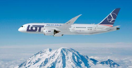 LOT Polish Airlines Dreamliner B787